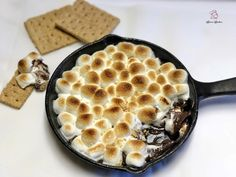 Hi and welcome back to my blog! As you can tell from the title… yes, I made s'mores dip! Well, I've made it before, but I actually blogged it this time as promised. I've fea…