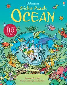 #stickers #puzzles #ocean #childrensbooks #nonfiction #usborne