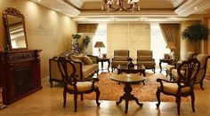 فضای پذیرایی International Real Estate, Table, Furniture, Home Decor, Decoration Home, Room Decor, Tables, Home Furnishings, Home Interior Design