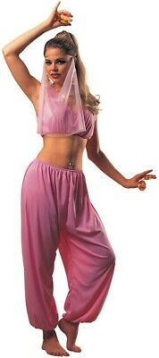 Royally enchant a Halloween party crowd with your magic moves in this striking women's costume. Slip into our Arabian Princess Women's Costume to revive the ancient ways in the halting, pink halter top and puffy pantaloons. Top off the sexy set up with a Costumes For Sale, Adult Costumes, Costumes For Women, Halloween Costumes, Arabian Princess Costume, Arabian Costume, Catsuit Costume, Nutcracker Costumes, Aladdin And Jasmine