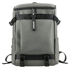 Faux Leather Backpack Laptop Bag for Men LEFTFIELD 673 (3)