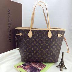 Louis Vuitton & LV Neverfull EN Toile Monogram – CHICS – Beautiful Handbags & Accessories