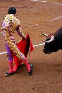 Spain bullfighting via Flickr