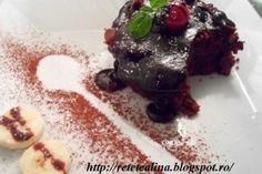 Reteta culinara Negresa de post cu visine din Carte de bucate, Retete de post. Specific Romania. Cum sa faci Negresa de post cu visine