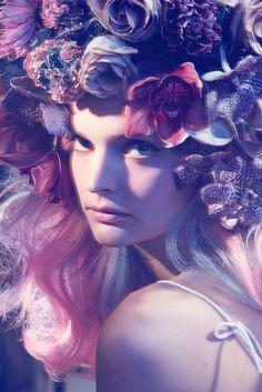visual optimism; fashion editorials, shows, campaigns & more!: gertrud by sune czajkowski for elle denmark march 2015