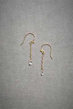 Diamond Briolette Drops in SHOP Sale Jewelry at BHLDN