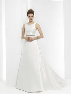 Wedding Gown Guide: A line A Line Bridal Gowns, Wedding Gowns, Boho Chic, Moda Formal, Simple Elegance, A Line Skirts, Dress Collection, One Shoulder Wedding Dress, Bride