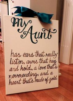Becoming an aunt is a great and adventurous step. Here are some being an aunt qu… - DIY Gifts Wedding Ideen Mothers Day Quotes, Mothers Day Crafts, Birthday Quotes For Aunt, Birthday Gifts For Aunt, Craft Gifts, Diy Gifts, Auntie Quotes, Best Aunt Quotes, Quotes About Aunts
