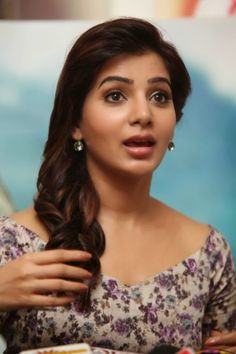South Indian Actress Samantha Ruth Prabhu AD 25 Days Success Meet Stills | Actress