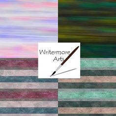 Printable Papercraft Sheets  Beads Scrapbooks by WritermoreArts