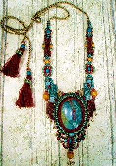 ~ crochet, macrame, weaving, beads, stone & a touch of love ~ | Flickr - Photo Sharing!