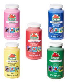 Basic Color Matte 16-Oz. Five-Piece Acrylic Paint Set