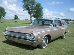 1964 Dodge 440 Station Wagon.