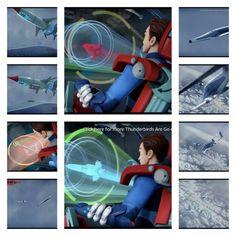 Thunderbird 1 going down ★ :(
