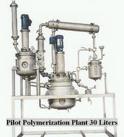 PILOT UNIVERSAL POLYMERIZATION PLANT Small Scale Production