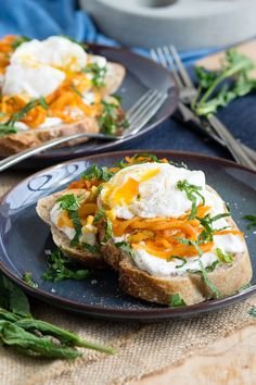 Harissa Onion and Poached Egg on Toast   The Worktop