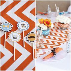 Little Man Printable Birthday Party Collection