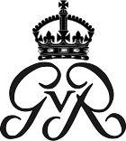 Royal Monogram of King George V of Great Britain.