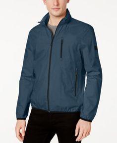 CALVIN KLEIN Calvin Klein Men'S Packable Windbreaker. #calvinklein #cloth # coats