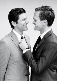 Neil Patrick Harris David Burtka are the perfect couple, the perfect people, the perfect everything! They inspire me every day of my life and I hope one day I could have what they have! David Burtka, David Boreanaz, Neil Patrick Harris Wedding, Bill T Jones, Perfect People, Beautiful People, Same Love, Star Children, Cute Gay Couples