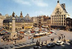 La Grand'Place de Lille dans les années 60 !