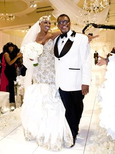 NeNe Leakes and Gregg Leakes' second wedding. The event was filmed for the upcoming Bravo series, I Dream of NeNe: The Wedding.