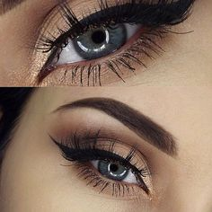 I feel like when i do my eyeliner and filled my eyebrows makes me 10x prettier