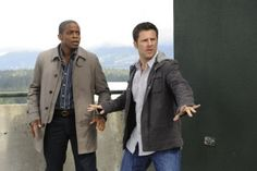 A great comedy duo. Dule Hill and James Roday in Psych.