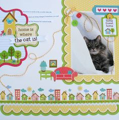 Home is Where the Cat Is - Scrapbook.com