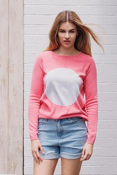 Jumpers For Women, Studio, Coral, Turtle Neck, Spring Summer, Sweaters, Cotton, Fashion, Moda