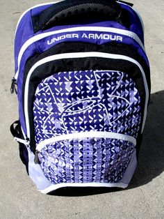 NEW  UNDER ARMOUR  PROTEGO  BACKPACK   19.25''X14''X 9'' PADDED STRAPS  PURPLE #UnderArmour #Backpack