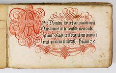Kalligraphische Schriftvorlagen von Johann Hering zu Kulmbach