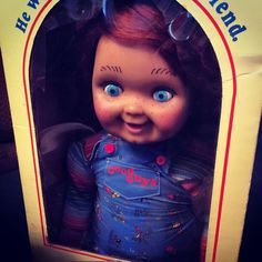 Screen Film Used Prop Original Chucky Doll Good Guy Doll Lifesize Child's Play 2