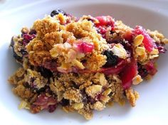 Gojee - Apple Berry Crisp by Food and Whine