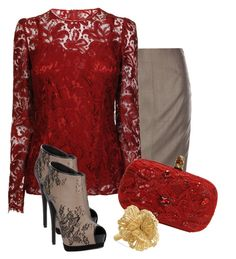 """""""Lace everywhere!"""" by elenh2005 ❤ liked on Polyvore"""