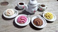 Sweet Bread Charm Miniature Food Jewelry Food by AndisaCharmsShop