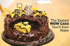 construction birthday cake - Google Search