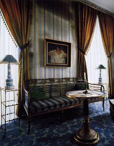 Madeleine Castaing... love the carpet