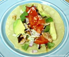 Caribbean Jerk Salmon Tacos - Confessions of a Cooking Diva