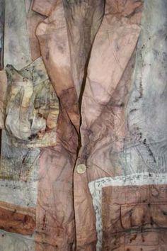 India Flint - beautiful things to wear India Flint, Shibori Fabric, Shibori Tie Dye, Textile Courses, Nuno Felting, Textile Artists, How To Dye Fabric, Surface Design, Refashioning