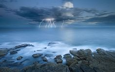 Shocking Bondi by Tim Poulton This photo was taken on September 8, 2009 in Ben Buckler, Sydney, NSW, AU, using a Nikon D700.