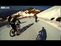 Megavalanche bike race from a riders perspective https://youtu.be/wtjpbj0Bcqw Love #sport follow #sports on @cutephonecases