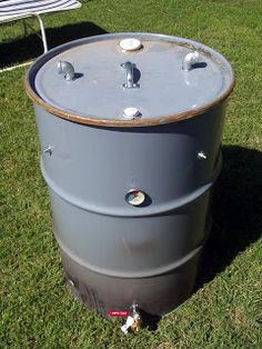 Cookin with Chuck: Ugly Drum Smoker