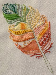 Marvelous Crewel Embroidery Long Short Soft Shading In Colors Ideas. Enchanting Crewel Embroidery Long Short Soft Shading In Colors Ideas. Hand Embroidery Stitches, Crewel Embroidery, Hand Embroidery Designs, Embroidery Techniques, Embroidery Applique, Cross Stitch Embroidery, Machine Embroidery, Embroidery Needles, Beginner Embroidery