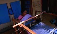 Manipur weaver