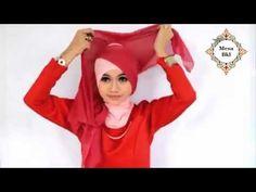 Cara Memakai Hijab Segi Empat Modern Simple ♥ tutorial hijab segi empat - YouTube
