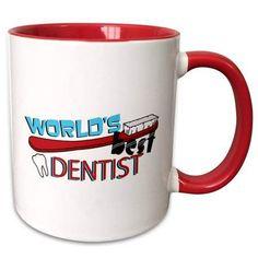 Mar 2020 - Symple Stuff Southborough Worlds Best Dentist Coffee Mug Color: Red Gifts For Dentist, Best Dentist, Dental Surgery, Dental Implants, Dental Hygienist Education, Emergency Dentist, Dental Bridge, Best Teeth Whitening, Cosmetic Dentistry