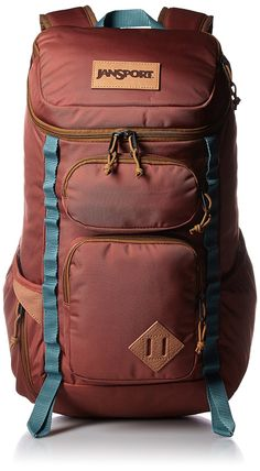 Jansport Night Owl Pack Burnt Henna Ballistic Nylon -- Insider's special review you can't miss. Read more  : Backpacking bags