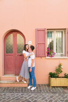 Фотограф в Римини, фотосессия в Римини, фотограф в Италии | Мария и Андрей | фотосессия love-story в Римини