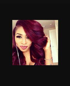 Reddish burgundy